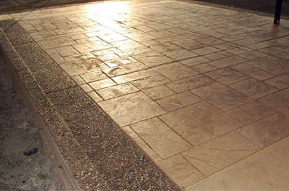 Decorative Stamped Concrete Paving